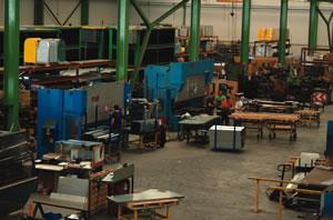 Taller de fabricación de contenedores THESAL