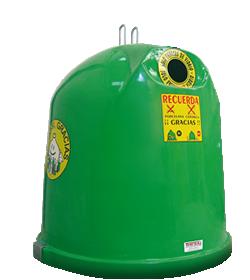 Contenedor de reciclaje - Iglú